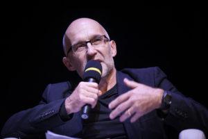 """25.10.2014 Gdańsk. ECS Debata """"Między samodzielnością a karnością. Porozmawiajmy o wychowaniu"""", która odbyła się w Europejskim Centrum Solidarności. Fot.Roman Jocher"""